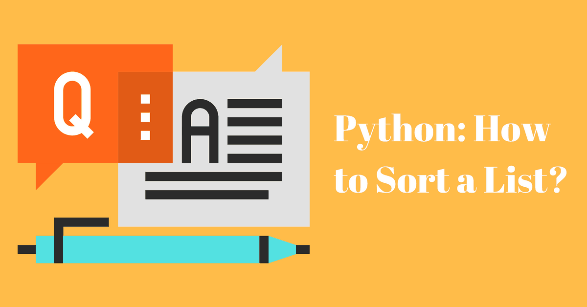 Python: How to Sort a List? (The Right Way) - Afternerd